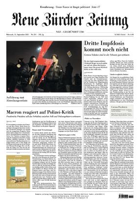 Neue Zürcher Zeitung (15.09.2021)