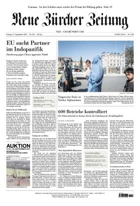 Neue Zürcher Zeitung (17.09.2021)