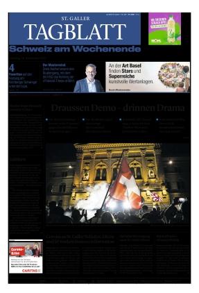St. Galler Tagblatt (18.09.2021)