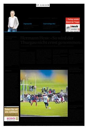 St. Galler Tagblatt (20.09.2021)