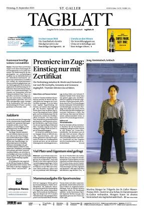 St. Galler Tagblatt (21.09.2021)
