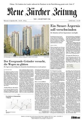 Neue Zürcher Zeitung (22.09.2021)
