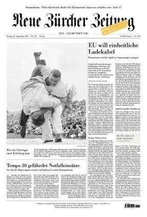Neue Zürcher Zeitung (24.09.2021)