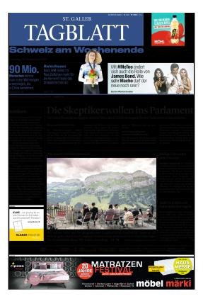 St. Galler Tagblatt (25.09.2021)