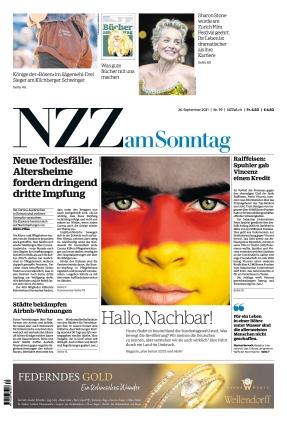 NZZ am Sonntag (26.09.2021)