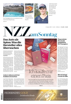 NZZ am Sonntag (03.10.2021)