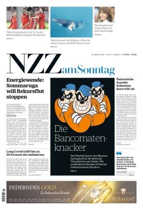 NZZ am Sonntag (10.10.2021)