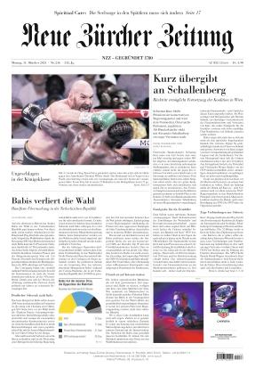 Neue Zürcher Zeitung (11.10.2021)