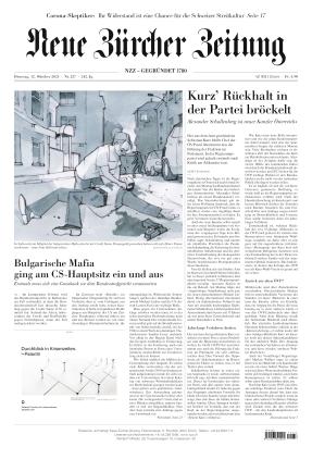 Neue Zürcher Zeitung (12.10.2021)