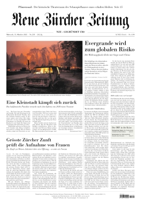 Neue Zürcher Zeitung (13.10.2021)
