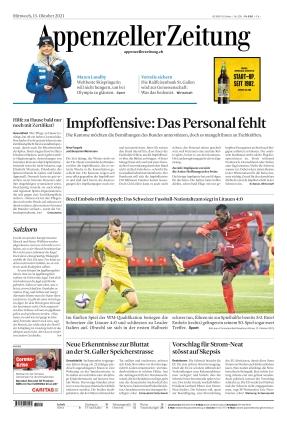 Appenzeller Zeitung (13.10.2021)