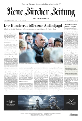 Neue Zürcher Zeitung (14.10.2021)
