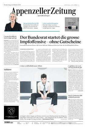 Appenzeller Zeitung (14.10.2021)