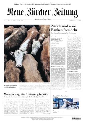 Neue Zürcher Zeitung (15.10.2021)