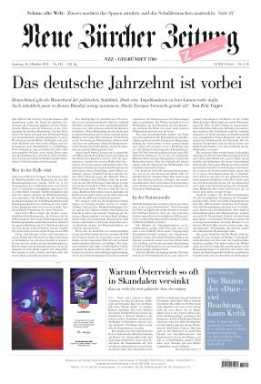 Neue Zürcher Zeitung (16.10.2021)