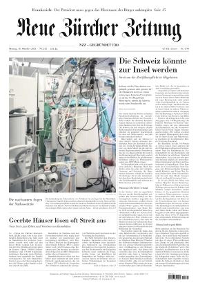 Neue Zürcher Zeitung (18.10.2021)