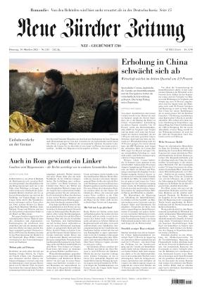 Neue Zürcher Zeitung (19.10.2021)
