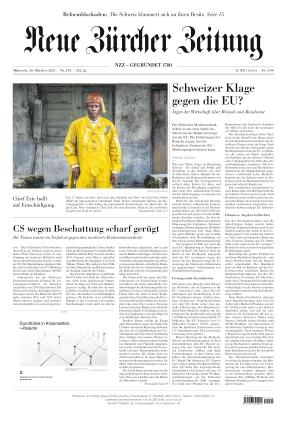 Neue Zürcher Zeitung (20.10.2021)