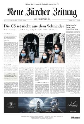 Neue Zürcher Zeitung (21.10.2021)
