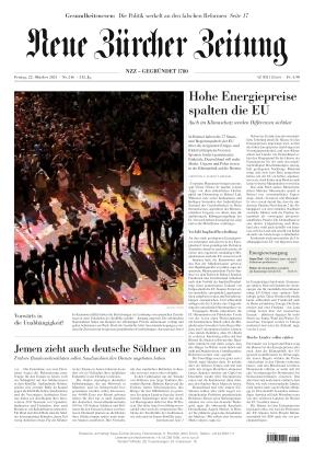 Neue Zürcher Zeitung (22.10.2021)
