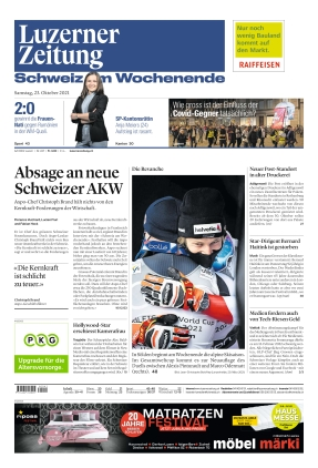 Luzerner Zeitung (23.10.2021)