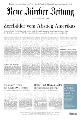 Neue Zürcher Zeitung (23.10.2021)