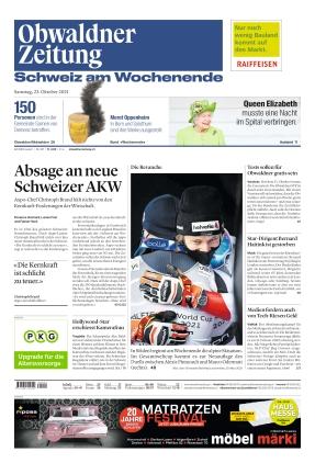 Obwaldner Zeitung (23.10.2021)