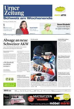 Urner Zeitung (23.10.2021)