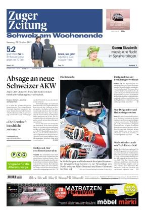 Zuger Zeitung (23.10.2021)