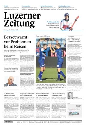 Luzerner Zeitung (25.10.2021)