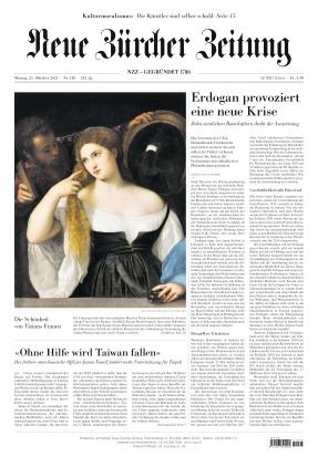 Neue Zürcher Zeitung (25.10.2021)