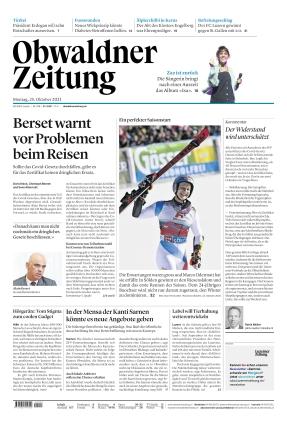 Obwaldner Zeitung (25.10.2021)