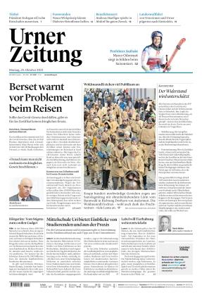 Urner Zeitung (25.10.2021)
