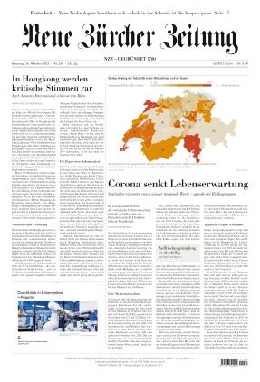 Neue Zürcher Zeitung (26.10.2021)