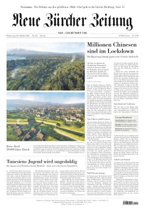Neue Zürcher Zeitung (28.10.2021)