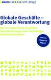 Globale Geschäfte - globale Verantwortung