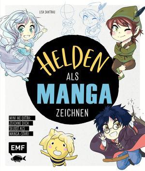 Helden als Manga zeichnen