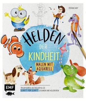 Helden der Kindheit - Malen mit Aquarell