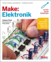 Vergrößerte Darstellung Cover: Make: Elektronik. Externe Website (neues Fenster)