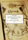 Chronik der Stadt und des Amtes Senftenberg