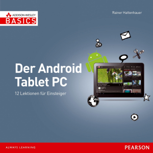 Der Android Tablet-PC