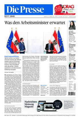 Die Presse (11.01.2021)