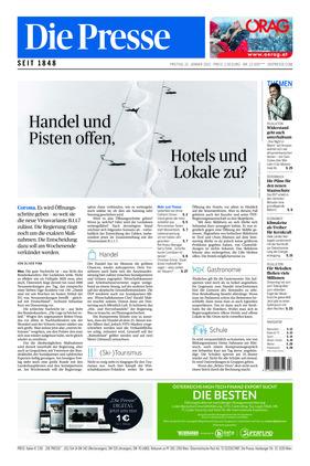 Die Presse (15.01.2021)