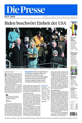Die Presse (21.01.2021)