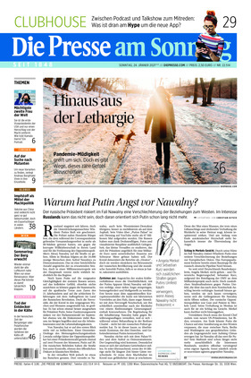 Die Presse (24.01.2021)