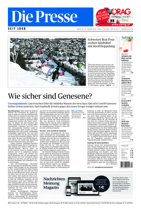 Die Presse (25.01.2021)