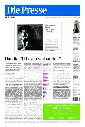 Die Presse (26.01.2021)