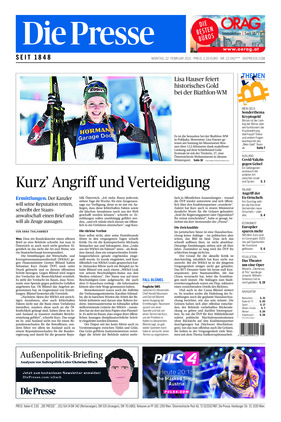 Die Presse (22.02.2021)