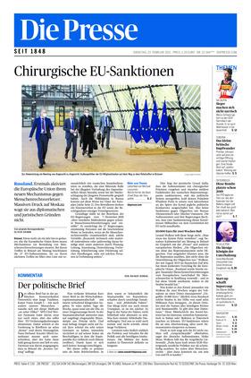 Die Presse (23.02.2021)