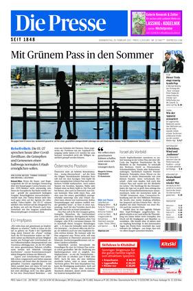 Die Presse (25.02.2021)